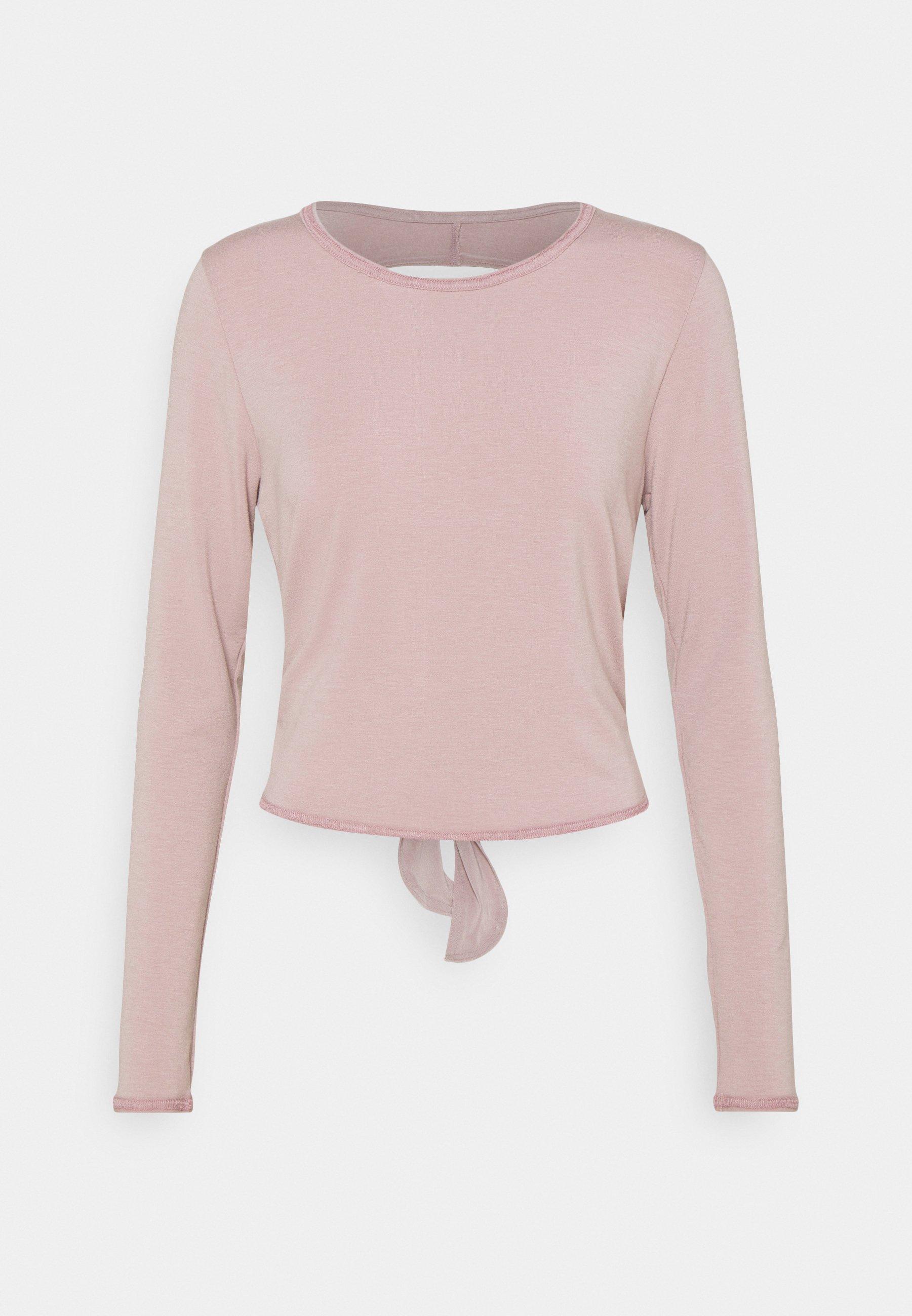 Women TIE BACK - Long sleeved top