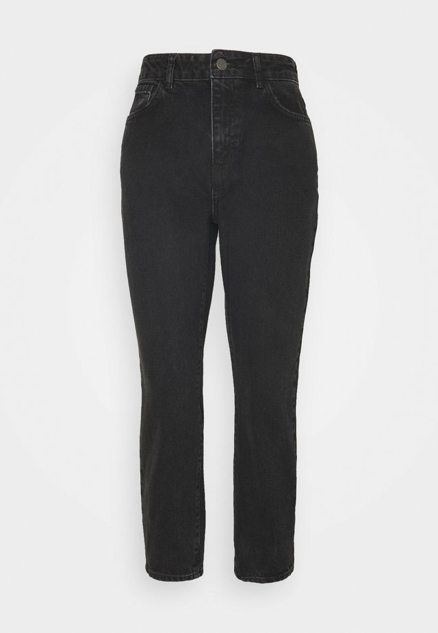 NMISABELANKL MOM  - Relaxed fit jeans - black