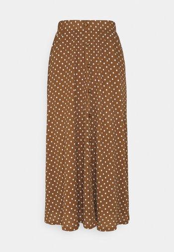 ONLPELLA SKIRT - Maxi skirt - toasted coconut