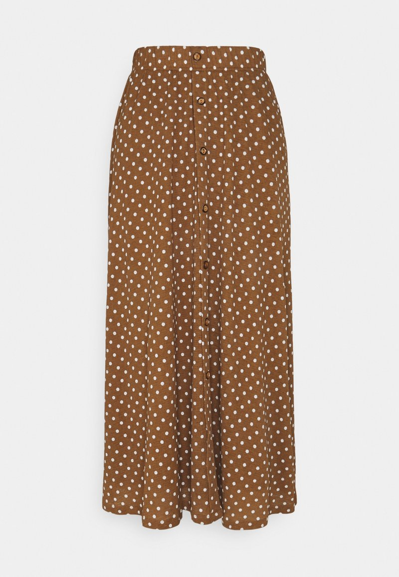 ONLY - ONLPELLA SKIRT - Maxi skirt - toasted coconut