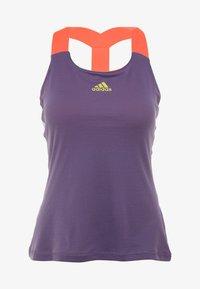 adidas Performance - TANK - Camiseta de deporte - purple - 3