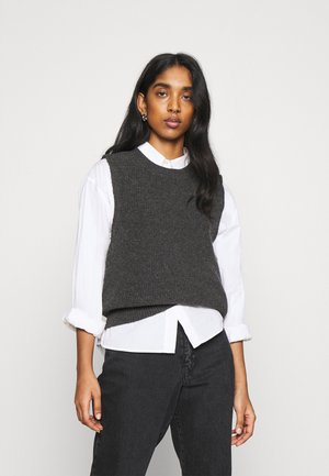 ONLPARIS LIFE VEST - Jumper - dark grey melange