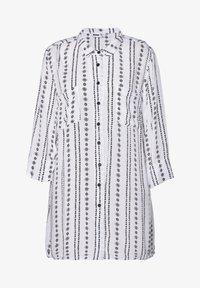 Studio - JYTTE - Button-down blouse - white black - 0
