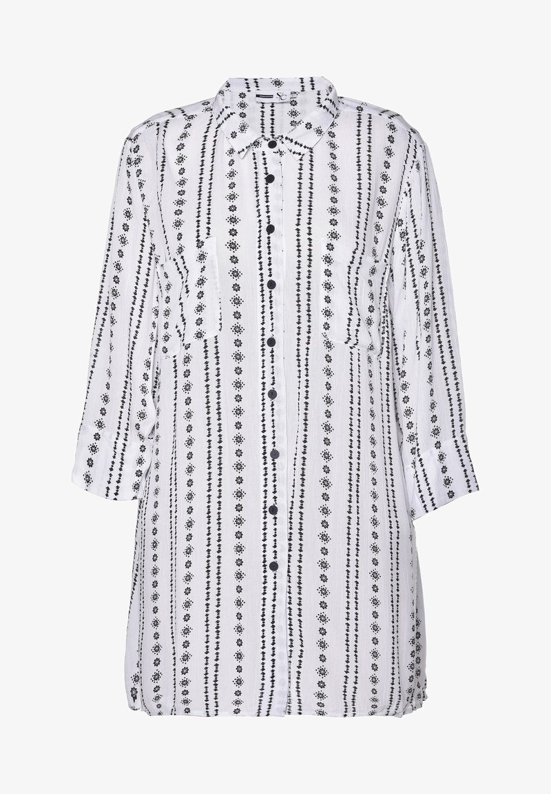 Studio - JYTTE - Button-down blouse - white black