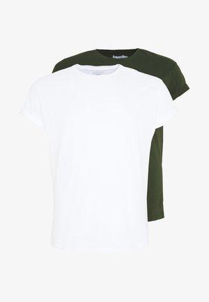 2 PACK - Jednoduché triko - multi