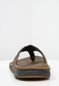 Reef - J-BAY - Sandály s odděleným palcem - camel - 3