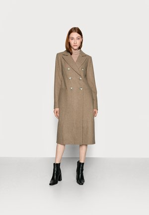 LADIES COAT - Classic coat - oatmeal