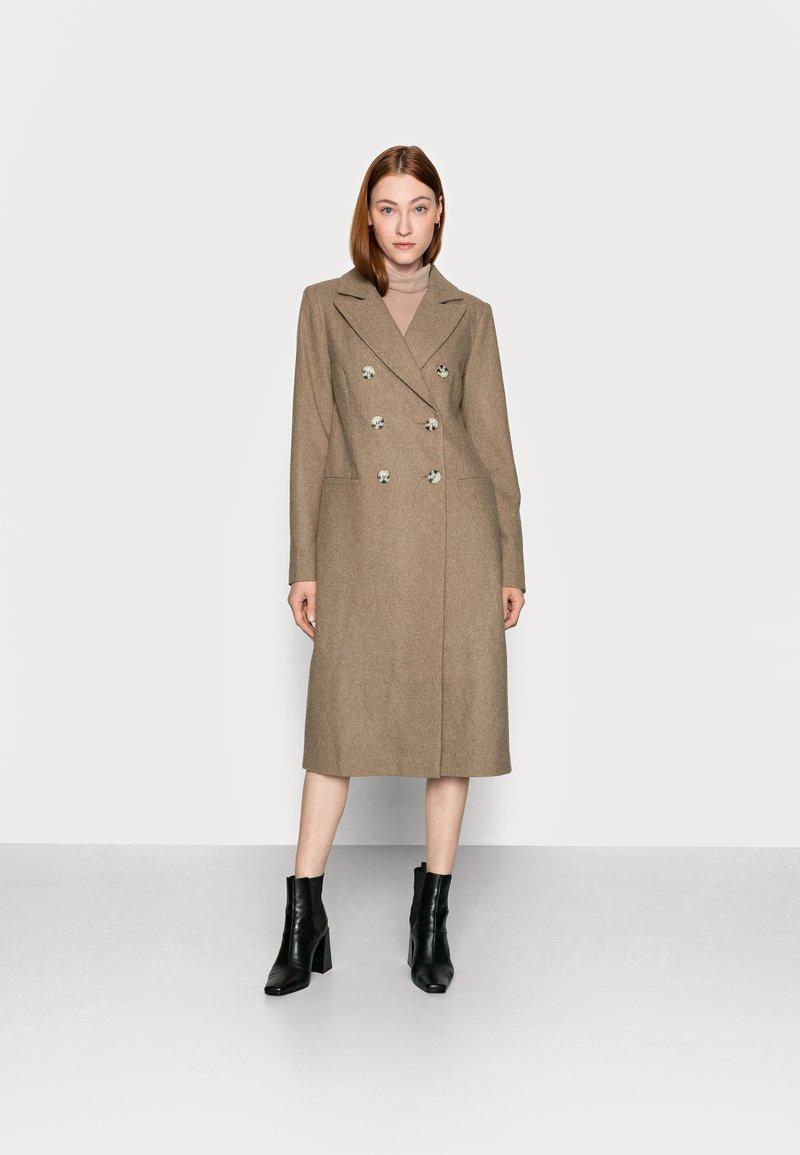 Glamorous Tall - LADIES COAT - Klasický kabát - oatmeal
