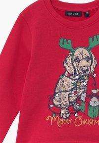 Blue Seven - KIDS CHRISTMAS DOG  - Sweater - hochrot - 3