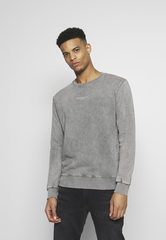 ACID WASH - Sweatshirt - grey