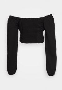Cotton On - ROMANTIC LONG SLEEVE BLOUSE - Bluser - black - 1