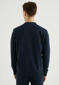WESTMARK LONDON - CORE - Zip-up sweatshirt - total eclipse - 2