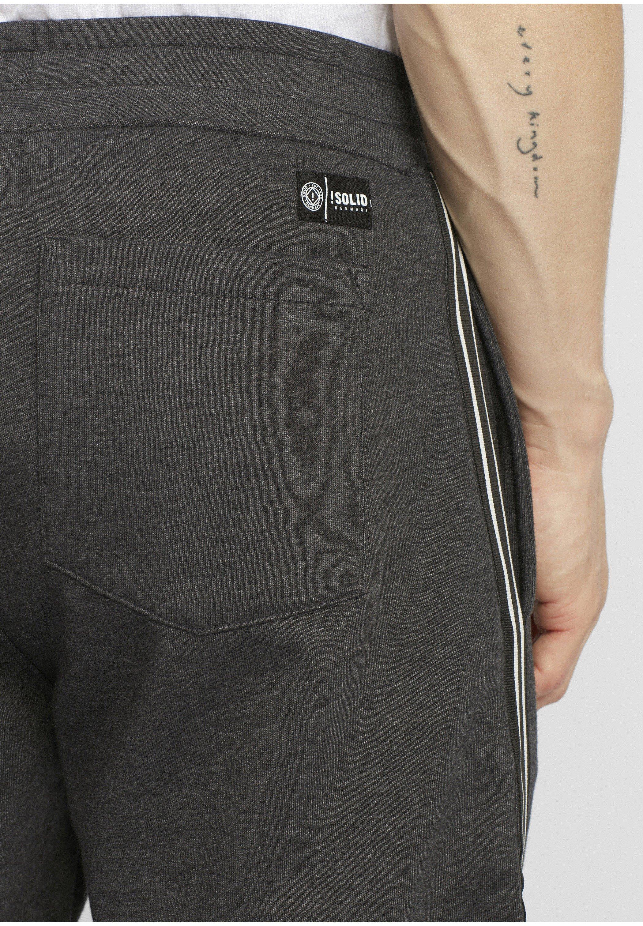 Solid Jogginghose - dark grey melange/dunkelgrau - Herrenbekleidung QY6hj