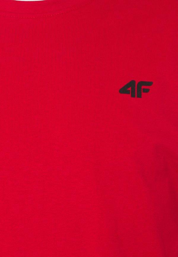 4F HERREN FRIDTJOF - T-shirt basic - red/czerwony Odzież Męska IBRQ