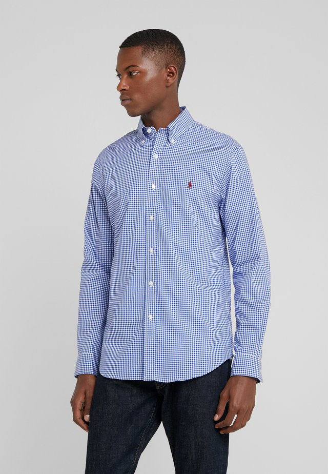 SLIM FIT - Camicia - royal/white