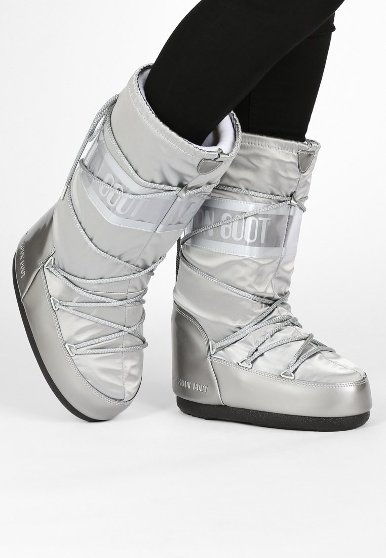 Moon Boot - GLANCE - Śniegowce - silver