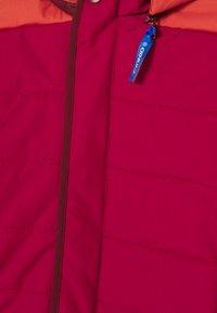 Finkid - KOIRA HUSKY - Winter jacket - persian red/cabernet - 3