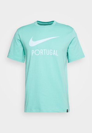 PORTUGAL FPF TEE GROUND - Article de supporter - mint
