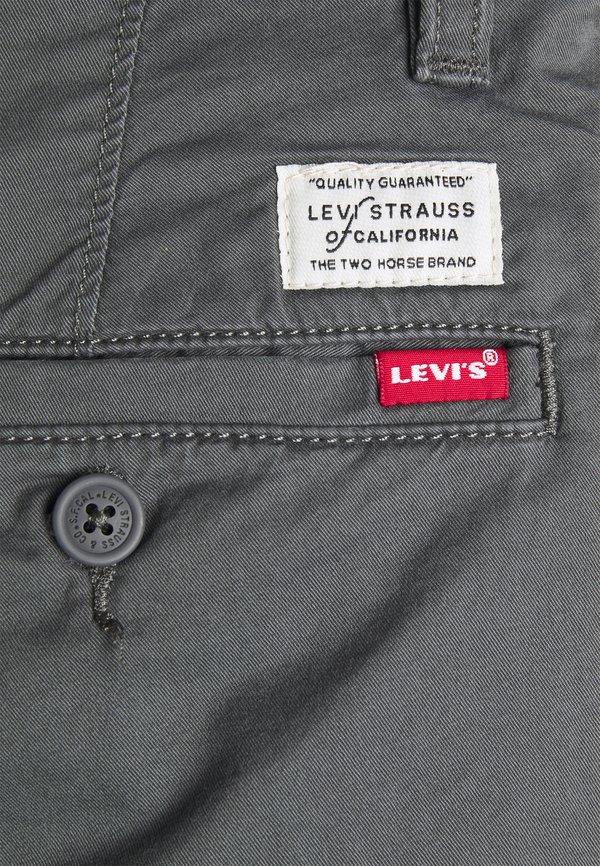 Levi's® XX CHINO SLIM FIT II - Chinosy - greys/ciemnoszary Odzież Męska GURS