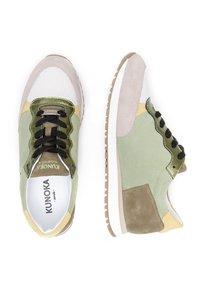 KUNOKA - KAY - Sneakers laag - green - 1