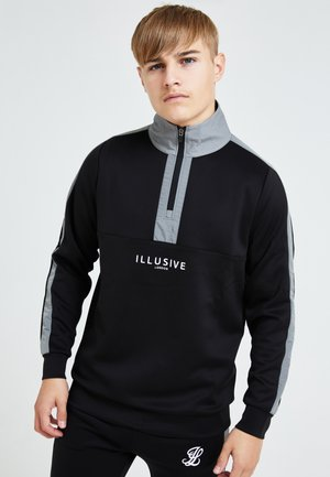 Fleecepaita - black & grey