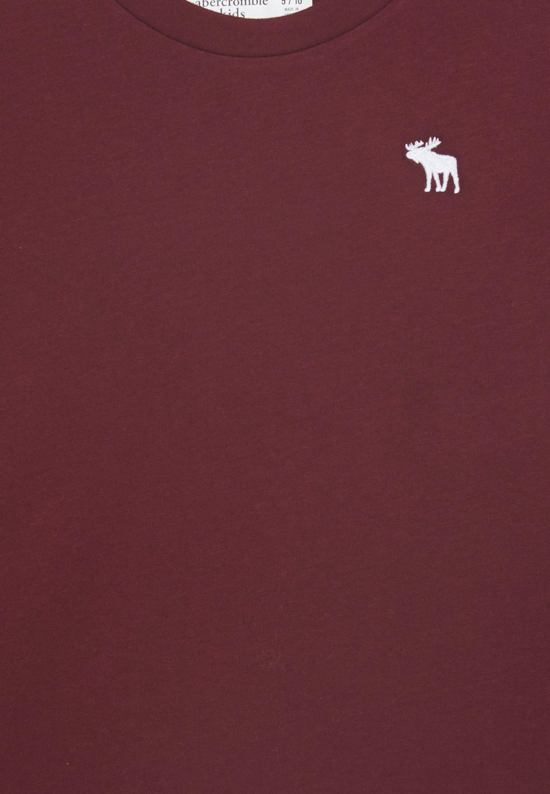 Abercrombie & Fitch Bluzka z długim rękawem - burgunder - Ubranka dla dzieci