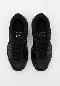 Nike Performance - COURT JR LITE 2 UNISEX - Multicourt tennis shoes - black - 3