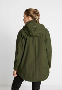 Helly Hansen - VALENTIA RAINCOAT - Outdoorjas - forest night - 2
