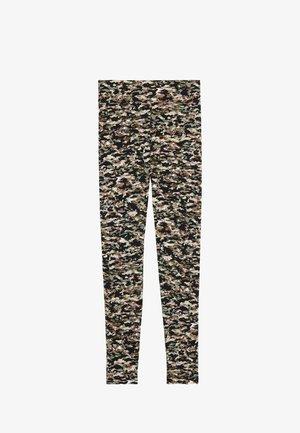 BEDRUCKTE  MIT HOHEM BUND - Leggings - Trousers - st.small camo
