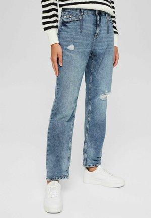 BOYFRIEND MEDIUM RISE - Straight leg jeans - blue medium wash
