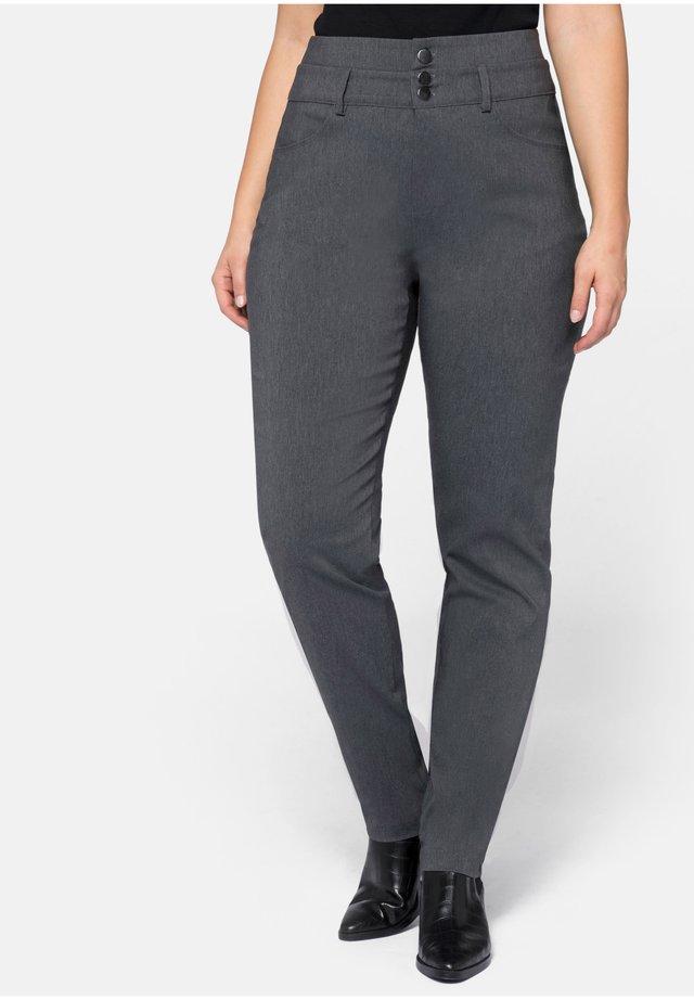 HOSE - Kangashousut - heather grey