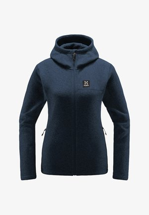 Fleece jacket - tarn blue
