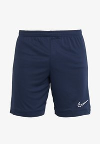 Nike Performance - DRY ACADEMY SHORT  - Sports shorts - obsidian/obsidian/white - 4
