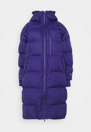 LONG PADDED - Winter coat - collegiate purple