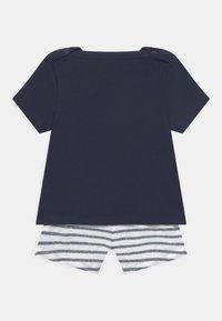 Petit Bateau - ENSEMBLE SET - Print T-shirt - white/dark blue - 1