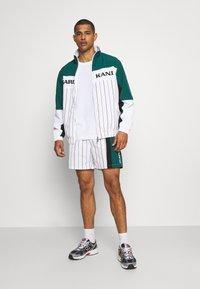 Karl Kani - RETRO BLOCK PINSTRIPE - Shorts - white - 1