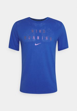 RUNNING DIVISION MILER - Camiseta estampada - game royal/silver
