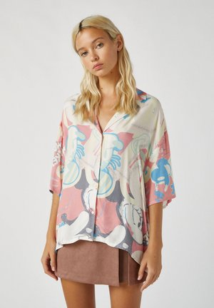 MICKY MAUS - Button-down blouse - beige
