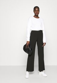 Mads Nørgaard - RECYCLED SPORTINA PIRLA - Trousers - black - 1