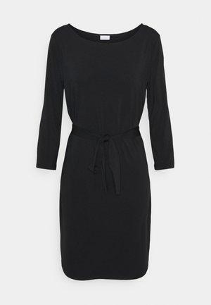 VIEBONI DRESS - Jerseykjole - black