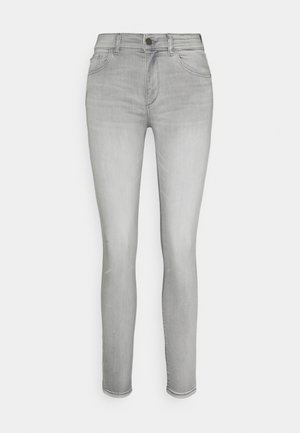 FLORENCE SKINNY MID RISE INSTASCULPT - Jeansy Skinny Fit - grey denim