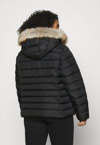 Tommy Jeans Curve - ESSENTIAL HOODED JACKET - Winter jacket - black - 2
