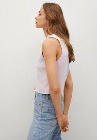 Mango - BROTO - Button-down blouse - violet clair pastel - 4