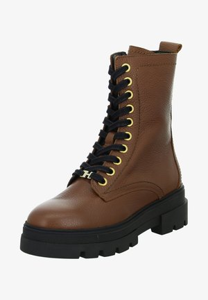 RUGGED CLASSIC - Lace-up ankle boots - braun
