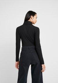 Zign - LANGARM BODYSUIT BASIC - Maglietta a manica lunga - black - 2