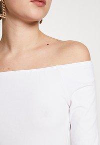 Even&Odd Tall - 2 PACK  - Topper langermet - white/black - 6