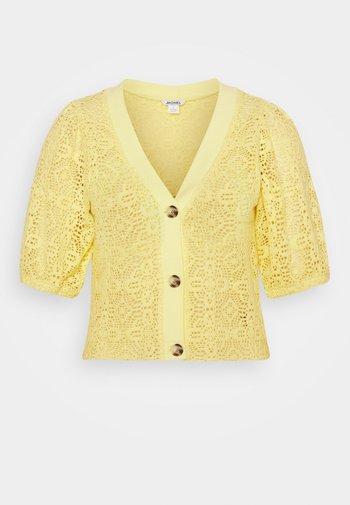 CHRIS  - Cardigan - yellow
