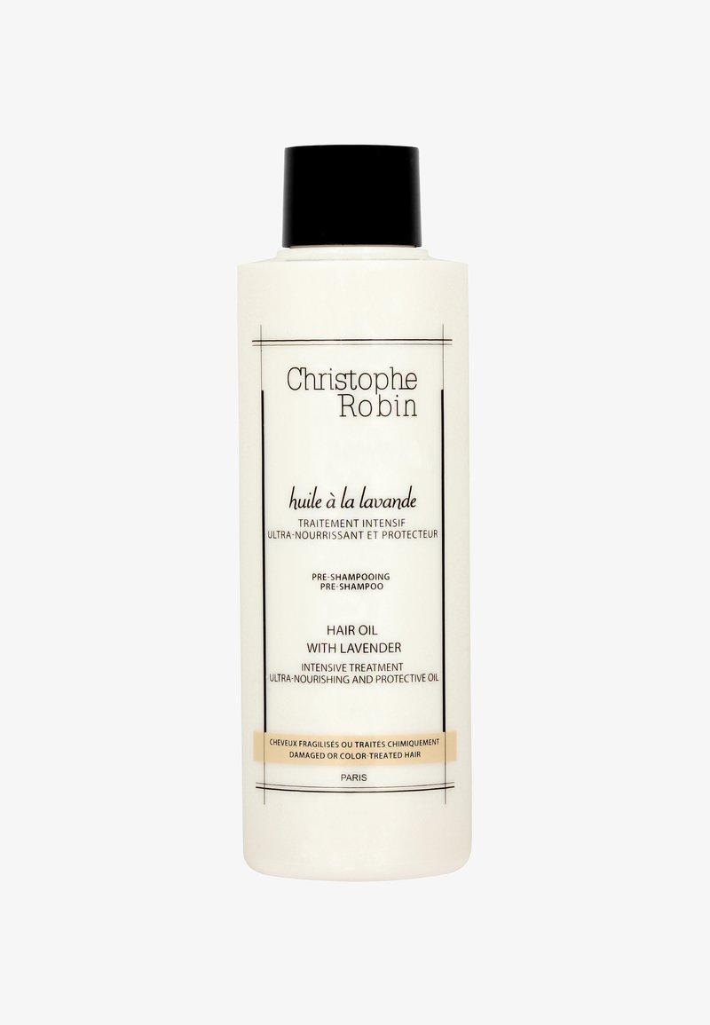 Christophe Robin - MOISTURIZING HAIR OIL WITH LAVENDER  - Soin des cheveux - -