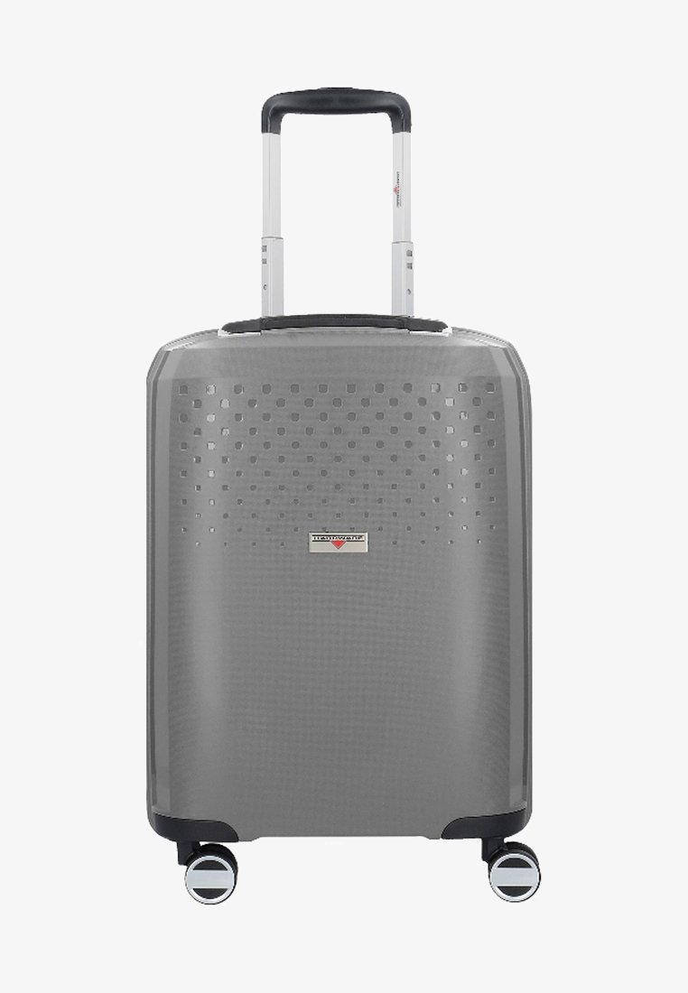 Hardware - BUBBLES  - Wheeled suitcase - grey