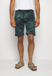 s.Oliver - Shorts - metal green - 0
